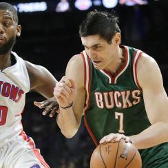 Pistons acquired power forward Ersan Ilyasova from the Bucks.