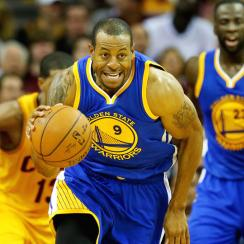 Warriors' Andre Iguodala starred in Game 4 of the NBA Finals, which was his first start of the season.