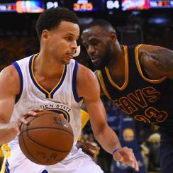 Stephen Curry outdueled LeBron James in the Warriors' NBA Finals Game 5 victory over the Cavaliers.