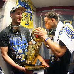 Klay Thompson, Steph Curry