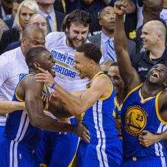 Stephen Curry, Golden State Warriors won the 2015 NBA title.