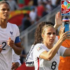 France's Women's World Cup team