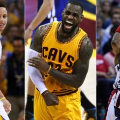 Stephen Curry; LeBron James; Paul Pierce