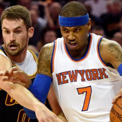 Kevin Love; Carmelo Anthony
