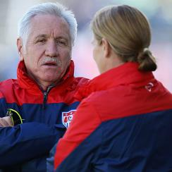 Former USWNT head coach Tom Sermanni is representing Canada in the 2015 FIFA Women's World Cup as an assistant