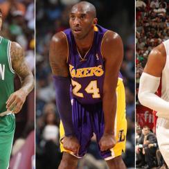Isaiah Thomas, Kobe Bryant, Dwyane Wade