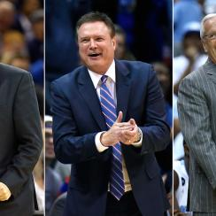 John Calipari, Bill Self, Roy Williams