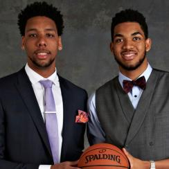 Jahlil Okafor; Karl-Anthony Towns