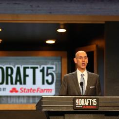 nba draft 2015 adam silver