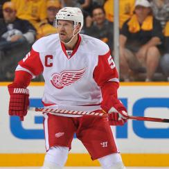 Hockey Hall of Fame inductees Nicklas Lidstrom