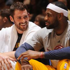 Kevin Love; LeBron James