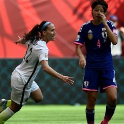 womens world cup usa japan lauren holiday goal video