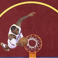 LeBron James, Cleveland Cavaliers