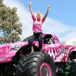WWE's Madusa's path from body slams to monster trucks