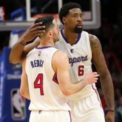 JJ Redick and DeAndre Jordan