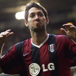 Clint Dempsey with Fulham in 2007