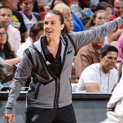 Becky Hammon, San Antonio Spurs beat Phoenix Suns to win NBA Las Vegas Summer League.