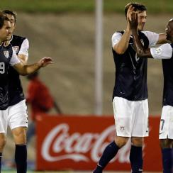 Brad Evans scored a vital World Cup qualifying goal for the USA against Jamaica in 2013.