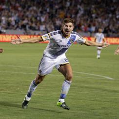Steven Gerrard enjoyed a fantastic MLS debut with the LA Galaxy.