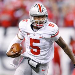Braxton Miller move wide receiver Cardale Jones