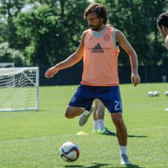 Andrea Pirlo will debut for New York City FC this weekend vs. Orlando City