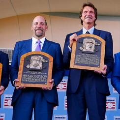 2015 MLB Hall of Fame induction: Craig Biggio, John Smoltz, Randy Johnson, Pedro Martinez