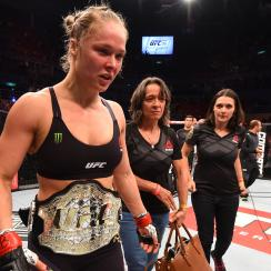 ronda rousey knockout correia dont cry ufc