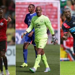 Rickie Lambert, Tim Howard and Georginio Wijnaldum will try to lead their teams to the upper half of the Premier League