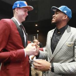 Kristaps Porzingis; Karl-Anthony Towns