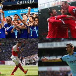 Chelsea, Manchester United, Arsenal and Manchester City are favorites to contend for the 2015-16 Premier League title