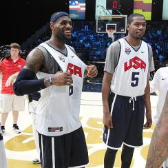 LeBron James, USA Basketball will hold a three-day minicamp in Las Vegas starting Tuesday.
