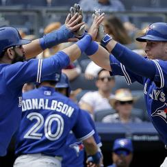 Jose Bautista and Justin Smoak, Toronto Blue Jays