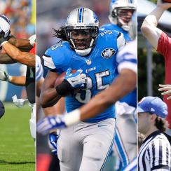 All-Prove It team: Sam Bradford, Jadeveon Clowney, Joique Bell