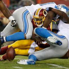 washington redskins robert griffin iii injury detroit lions