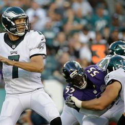 Philadelphia Eagles Sam Bradford preseason debut