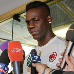 Mario Balotelli is headed back to AC Milan on loan from Liverpool