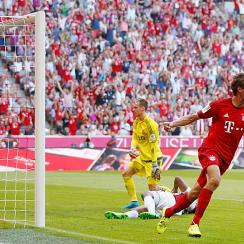 Thomas Muller Bayern Munich vs. Bayer Leverkusen