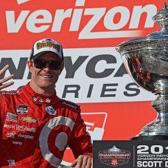 Scott Dixon IndyCar finale sonoma