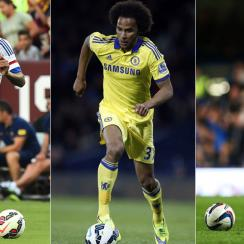 Kenedy, Isiah Brown, Marko Marin all are on loan from Chelsea