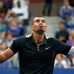 Nick Kyrgios Andy Murray US Open results