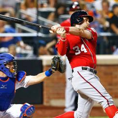 Bryce Harper, Washington Nationals open their series against the New York Mets on Monday.