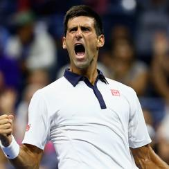 US Open results Novak Djokovic