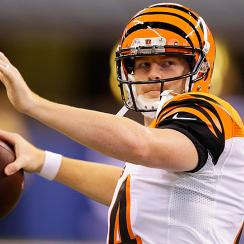 Andy Dalton bengals fantasy football waiver wire week 1