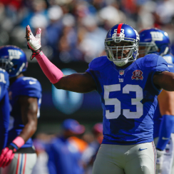 Jameel McClain cut by New York Giants but not discouraged
