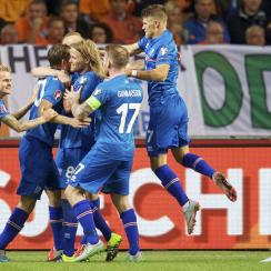 Iceland's national team qualified for Euro 2016