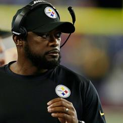 Mike Tomlin Steelers Patriots