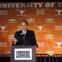 texas athletic director steve patterson fired
