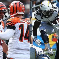Fantasy football Week 2 risers, sliders: Tyler Eifert, Melvin Gordon, Tony Romo