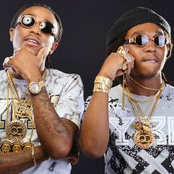 Quavo (left), Takeoff of Migos