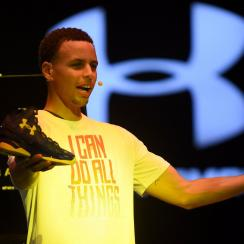 stephen curry warriors under armour sneaker contract